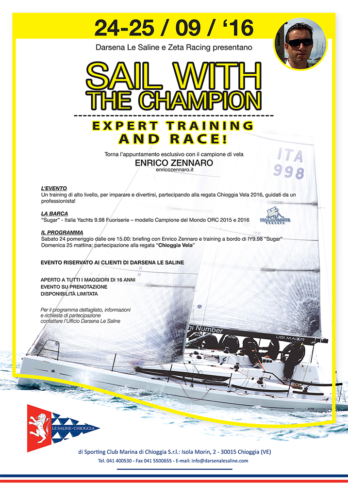 sail with the champion 2016